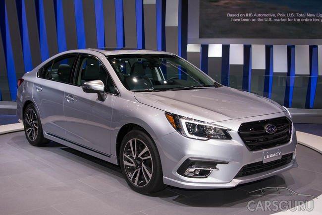Subaru Legacy скоро вернут на рынок России