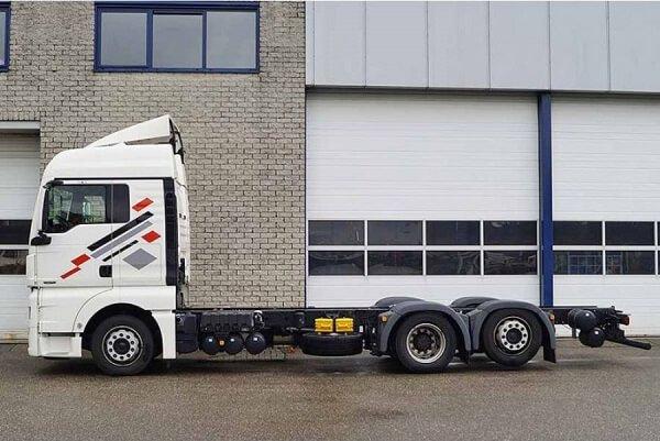 MAN 6 X 4 TGX Truck – это качество и залог успеха!