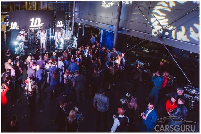 Порше Центр Москва отпраздновал свое 10-летие