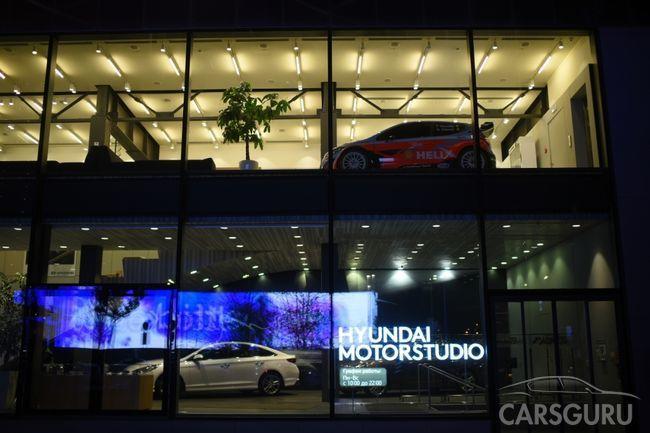 Hyundai создал первое в России виртуальное пространство марки