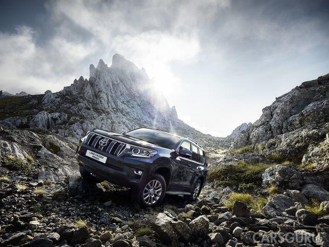 Стартовали продажи Toyota Land Cruiser Prado в России