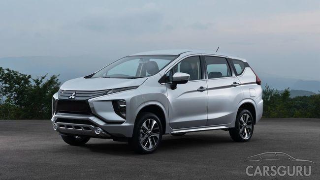 Mitsubishi раздумывает над поставкой вседорожного минивэна Xpander в Россию