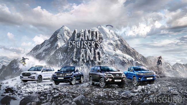 Масштабный тест-драйв Land Cruiser's Land: возможность испытать Land Cruiser Prado в 60 городах России