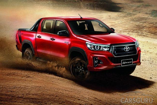 Toyota представила рестайлинговую модель Hilux