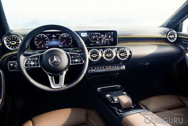 Mercedes раскрыл интерьер модели A-класса новой генерации
