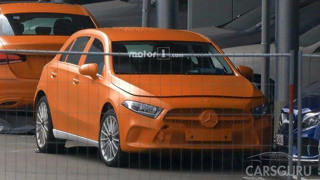 Новое поколение Mercedes-Benz A-class: шпионские снимки и дата выхода