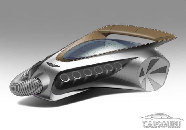 Aston Martin подшутил над Dyson эскизом пылесоса