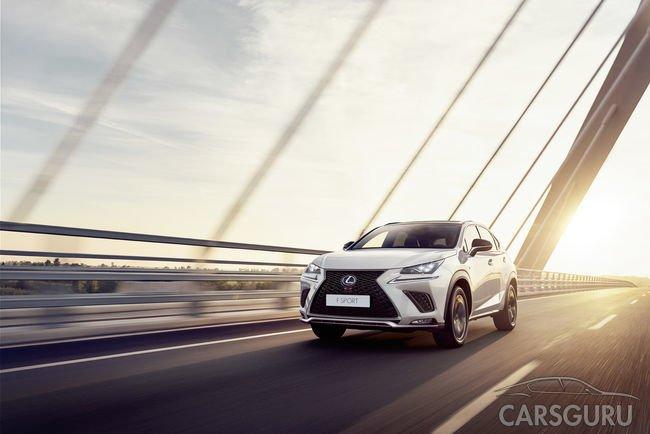 Начались продажи обновленного премиального кроссовера Lexus NX
