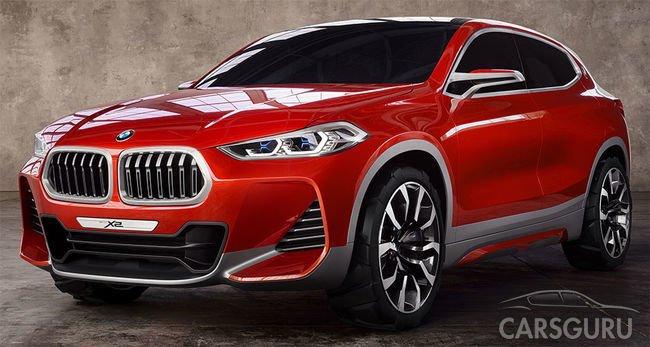 BMW X2 уже доступен к заказу в автосалонах страны