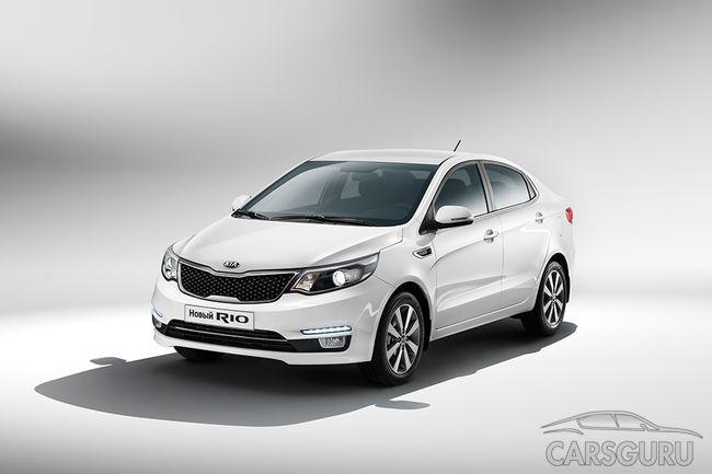 ТОП-10 самых продаваемых в России авто в октябре