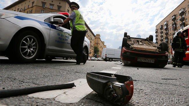 Эксперты определили самые аварийно-опасные части МКАД
