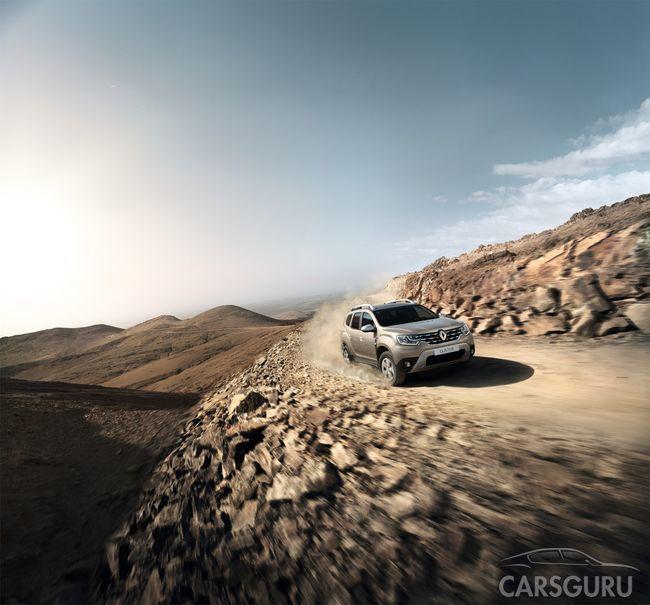 Новый Renault Duster: первые официальные фото