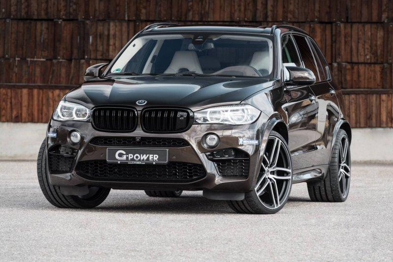 Мастера из G-Power обновили серию BMW X5 M