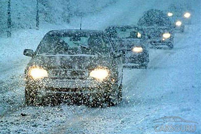 Советы от автоэкспертов при движении по льду и снегу