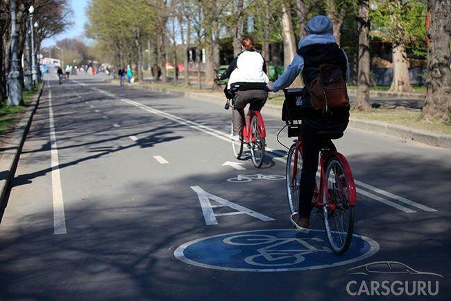 Новые ограничения для водителей в велосипедных зонах
