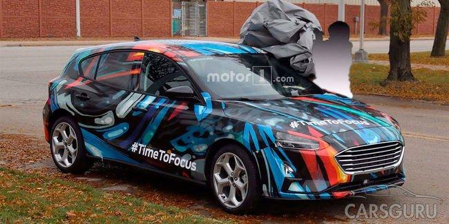 Появились первые фото нового Ford Focus