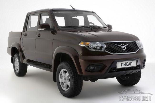 УАЗ Пикап стал лидером продаж в своем сегменте на отечественном рынке