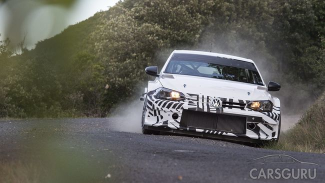 Мировая премьера раллийного Polo GTI R5