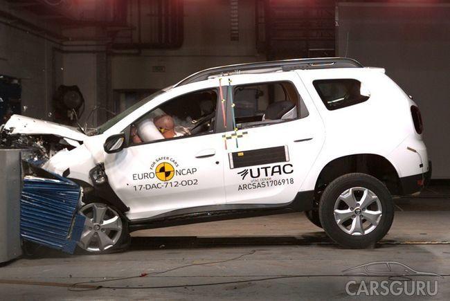 Dacia Duster признали смертельно опасным при фронтальном столкновении