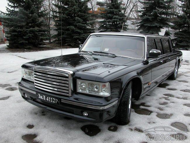 Лимузин, который когда-то не понравился Путину продают за 70 млн рублей