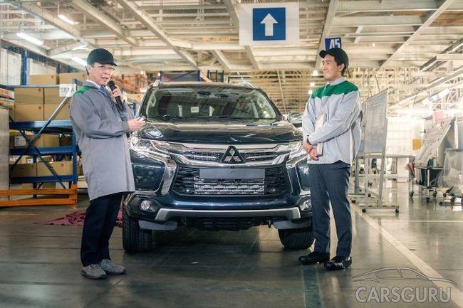В Калуге вновь начали производство Mitsubishi Pajero Sport