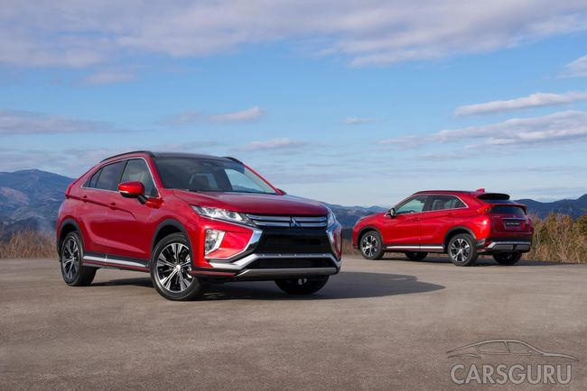 Mitsubishi огласил дату выхода Eclipse Cross на рынок России