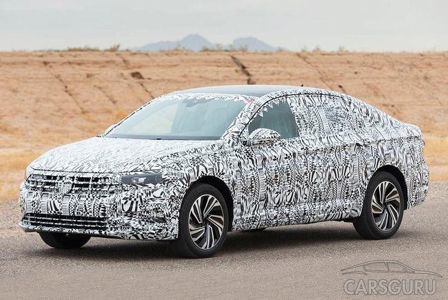 В ожидании дебюта нового поколения Volkswagen Jetta в Детройте