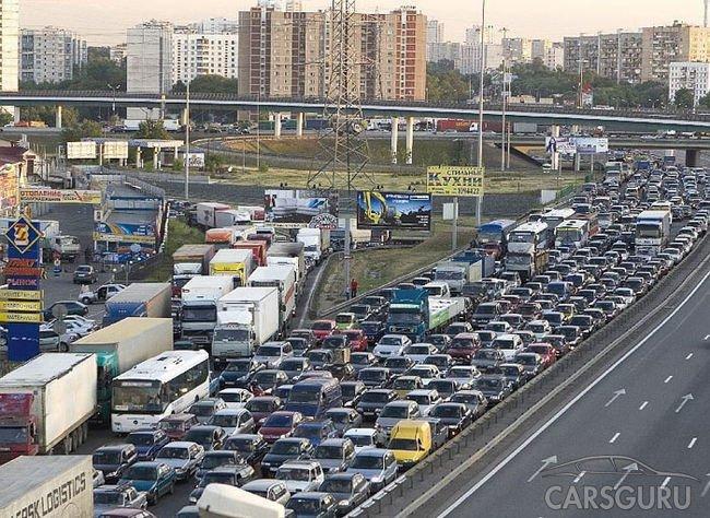 В столице России больше 500 000 лишних авто