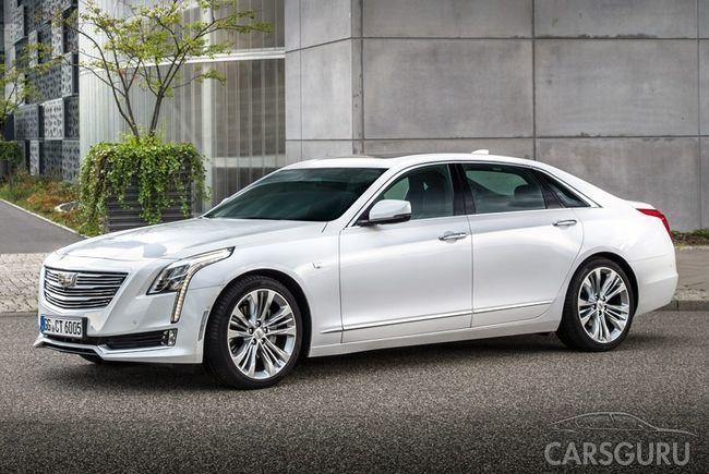Cadillac CT6 приедет на российский рынок: уже известны цены
