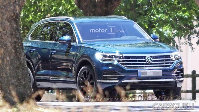 Представлены первые фото экстерьера Volkswagen Touareg нового поколения