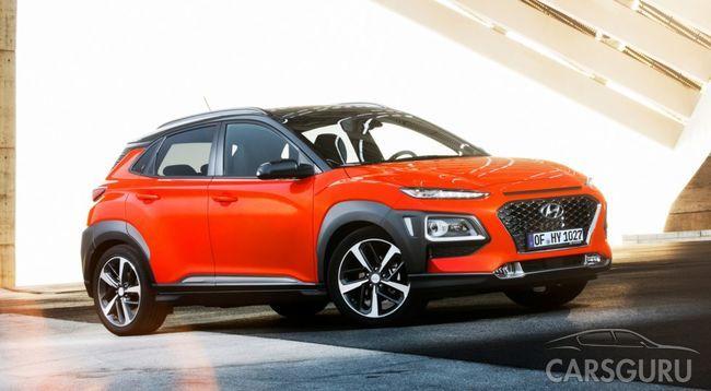 Hyundai преобразит внешность кроссовера Kona