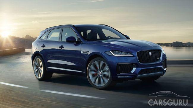 Jaguar F-PACE – удовольствие с выгодой в АВИЛОН