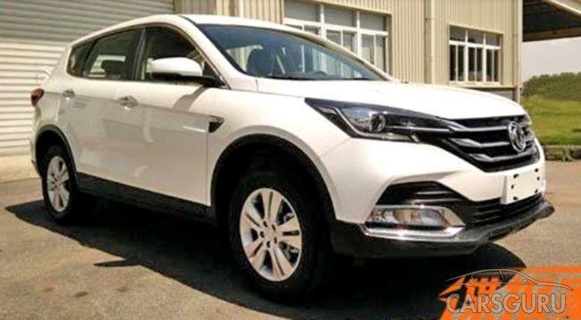 Продажи рестайлингового паркетника Dongfeng AX7 начнутся уже в этом месяце