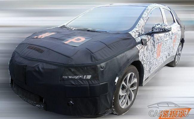 Новый крупный паркетник от Chevrolet проходит испытания