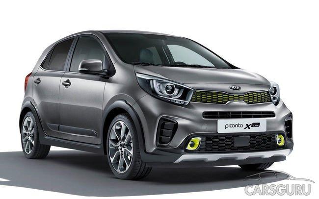 Kia представит в России новую модель из семейства X-Line