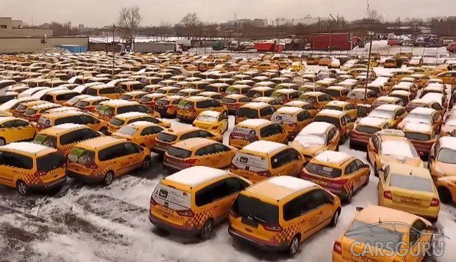 Столичное кладбище такси (видео)