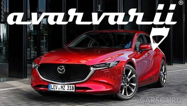 Представлены первые фото Mazda 3 новой генерации