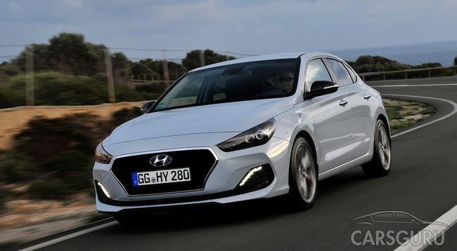 Стала известна цена и виды оснащения Hyundai i30 Fastback