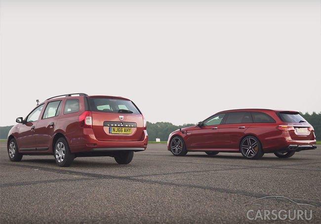 Самый быстрый универсал сравнивали с Dacia Logan