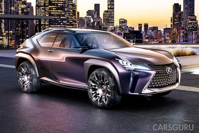 Самый доступный кроссовер Lexus представят в марте
