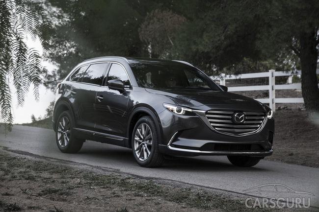 Mazda может локализировать в России сборку CX-9