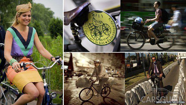 Европейцы массово изменяют автомобилям с велосипедами