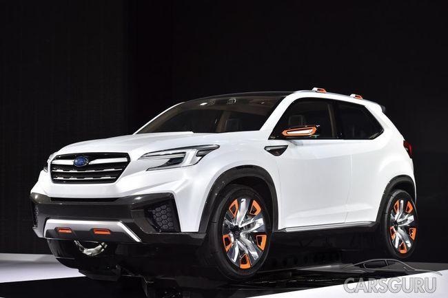 Огласили дату презентации нового поколения Subaru Forester
