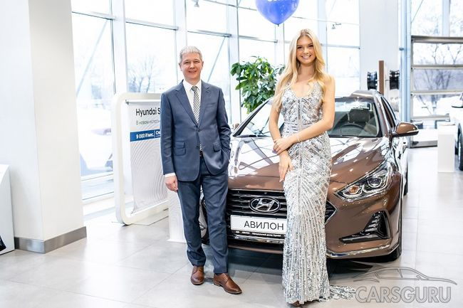 Директором дилерского центра АВИЛОН Hyundai стала «Мисс Россия» Полина Попова