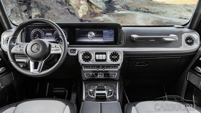 Рассекречен салон нового Mercedes-Benz Gelandewagen до премьеры