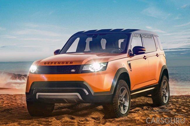 Свежая информация о новом Land Rover Defender