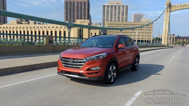 Hyundai улучшил паркетник Tucson 2018 модельного года
