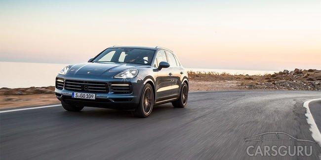 Старт продаж новой генерации Porsche Cayenne запланирован на январь