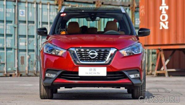 Недорогой паркетник Nissan Kicks превзошел по продажам Hyundai Creta
