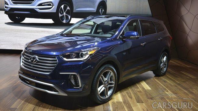 Hyundai огласил старт продаж обновленного Hyundai Grand Santa Fe